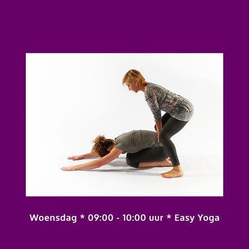 Woensdag Easy Yoga les buiten