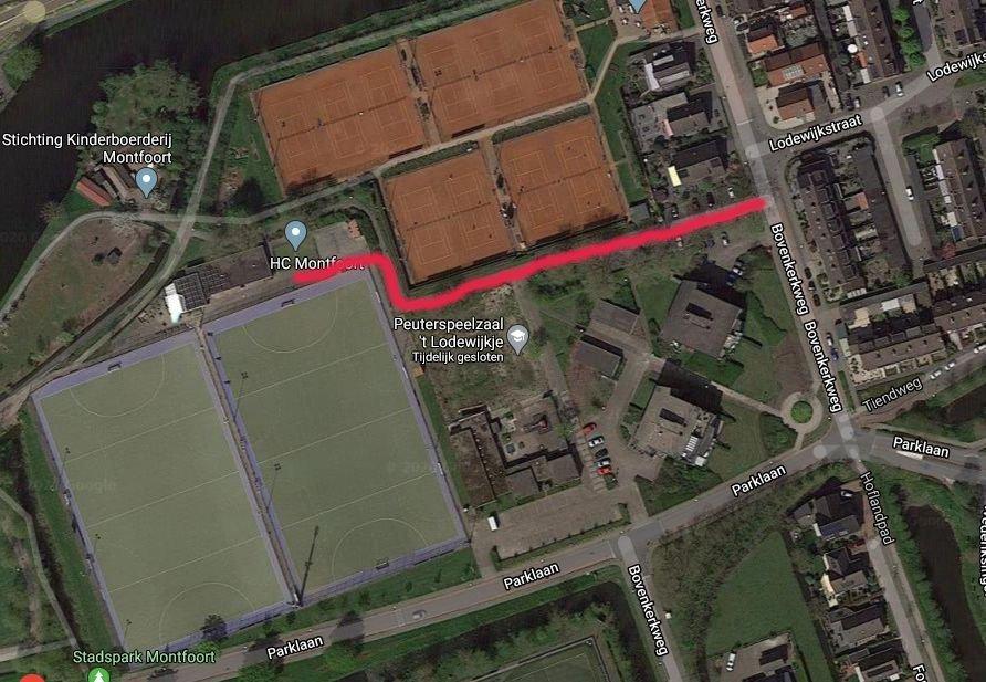 Hockeyclub Montfoort op woensdag- en vrijdagochtend op de hockeyvelden op de Bovenkerkweg 14.